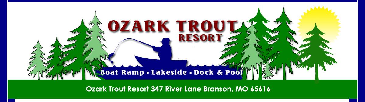Ozark trout resort branson missouri lake taneycomo for Missouri fishing license